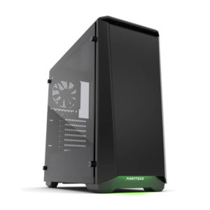 Phanteks Eclipse P400 Black Tempered Glass H1