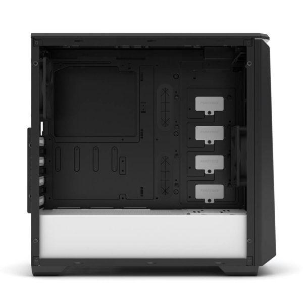 Phanteks Eclipse P400 Black:white Tempered Glass H4