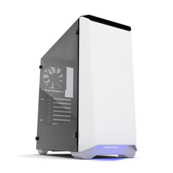 Phanteks Eclipse P400 White Tempered Glass H1