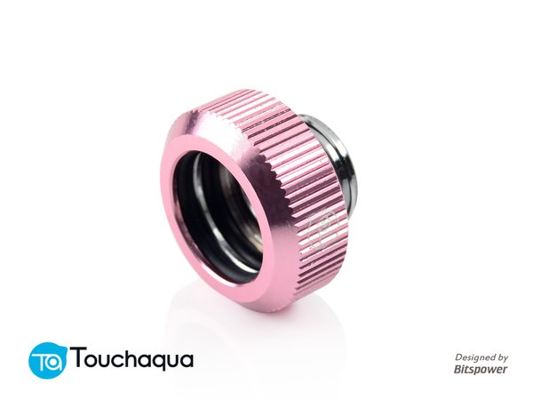 Touchaqua G1,4 Tighten Fitting For Hard Tubing Od14mm (pink)
