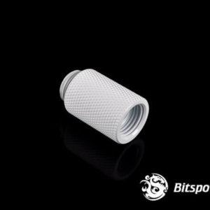 Bitspower G1/4'' Deluxe White IG1/4'' Extender-25MM