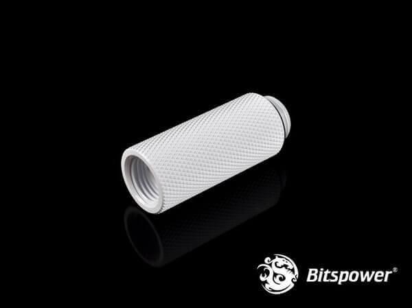 Bitspower G1/4'' Deluxe White IG1/4'' Extender-40MM