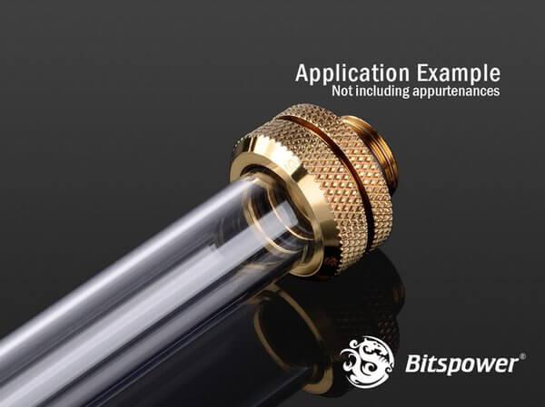 Bitspower G1/4'' Golden Enhance Multi-Link For OD 14MM