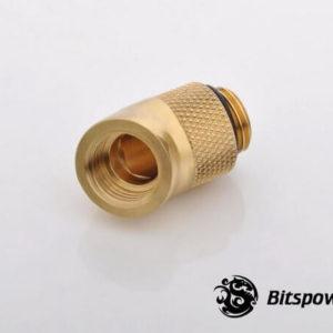 Bitspower G1/4'' Golden Rotary 45-Degree IG1/4'' Extender