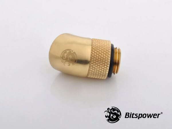 Bitspower G1,4'' Golden Rotary 60-Degree IG1,4'' Extender