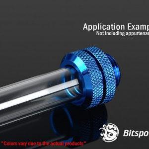 Bitspower G1/4'' Royal Blue Enhance Multi-Link For OD 12MM