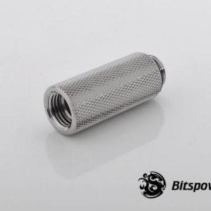 Bitspower G1/4'' Silver Shining IG1/4'' Extender-40MM