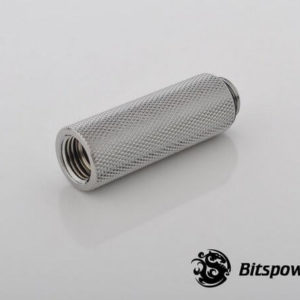 Bitspower G1/4'' Silver Shining IG1/4'' Extender-50MM