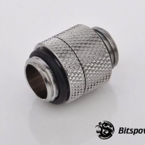 Bitspower G1/4'' Silver Shining Rotary G1/4'' Extender
