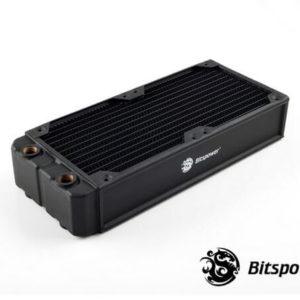 Bitspower Leviathan Xtreme 240 4xG1/4'' - Full Copper Premium Radiator