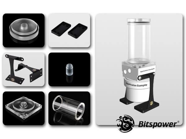 Dual / Single D5 Top Upgrade Kit 100 (Clear Acrylic Cap)