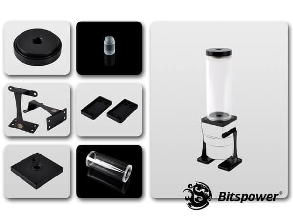 Dual / Single D5 Top Upgrade Kit 150 (Black POM Cap)