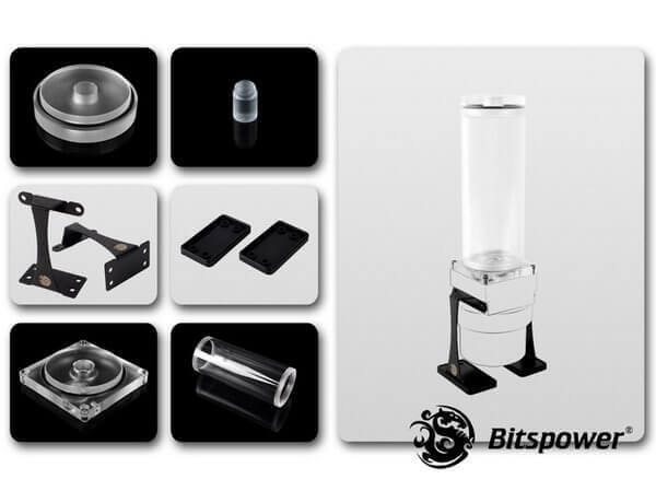 Dual / Single D5 Top Upgrade Kit 150 (Clear Acrylic Cap)
