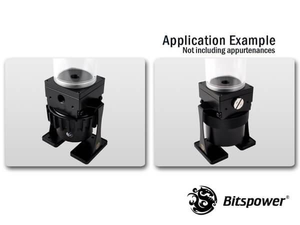 Dual / Single D5 Top Upgrade Kit 250 (Black POM Cap)