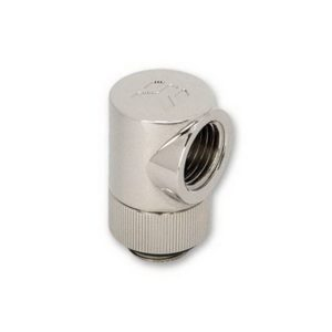 EK-CSQ 90° G1/4 Nickel Adapter Fitting