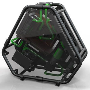 ID Cooling Stream 2 - Frame Tubing Aluminium Premium M-ATX Case