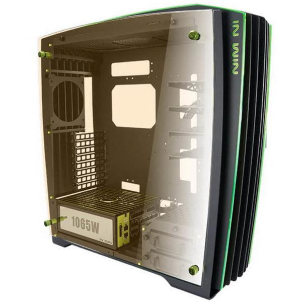 In-Win H-Frame Black Green 2.0 + SII-1065W - 30th Anniversary Premium Signature Combo