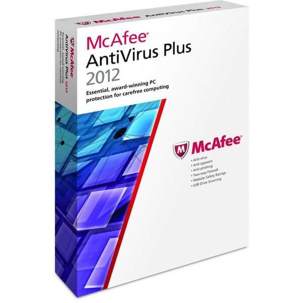 McAfee AntiVirus Plus - 1 Year