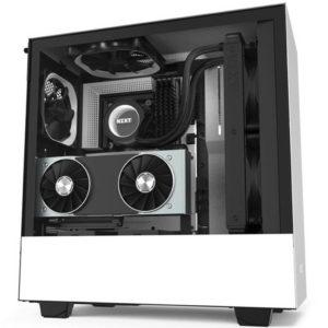 NZXT H510i - WHITE/BLACK