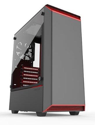 Phanteks Eclipse P300 Black/ Red