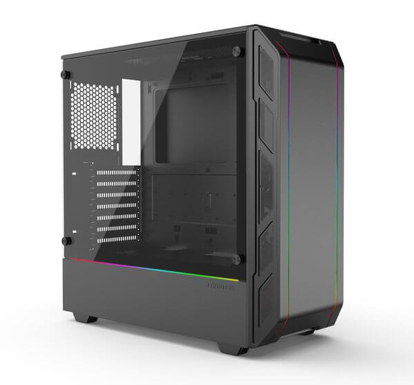Phanteks P350X Black - Digital RGB Gaming Case