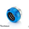 """Touchaqua Dual O-Ring G1/4"""" Tighten Fitting For Hard Tubing OD14MM (Blue)"""