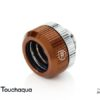 "Touchaqua Dual O-Ring G1/4"" Tighten Fitting For Hard Tubing OD14MM (Coffee)"