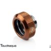 """Touchaqua G1/4"""" Tighten Fitting For Hard Tubing OD14MM (Coffee)"""