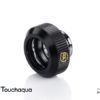 "Touchaqua G1/4"" Tighten Fitting For Hard Tubing OD14MM (Glorious Black)"
