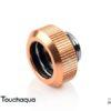 "Touchaqua G1/4"" Tighten Fitting For Hard Tubing OD14MM (Rose Golden)"