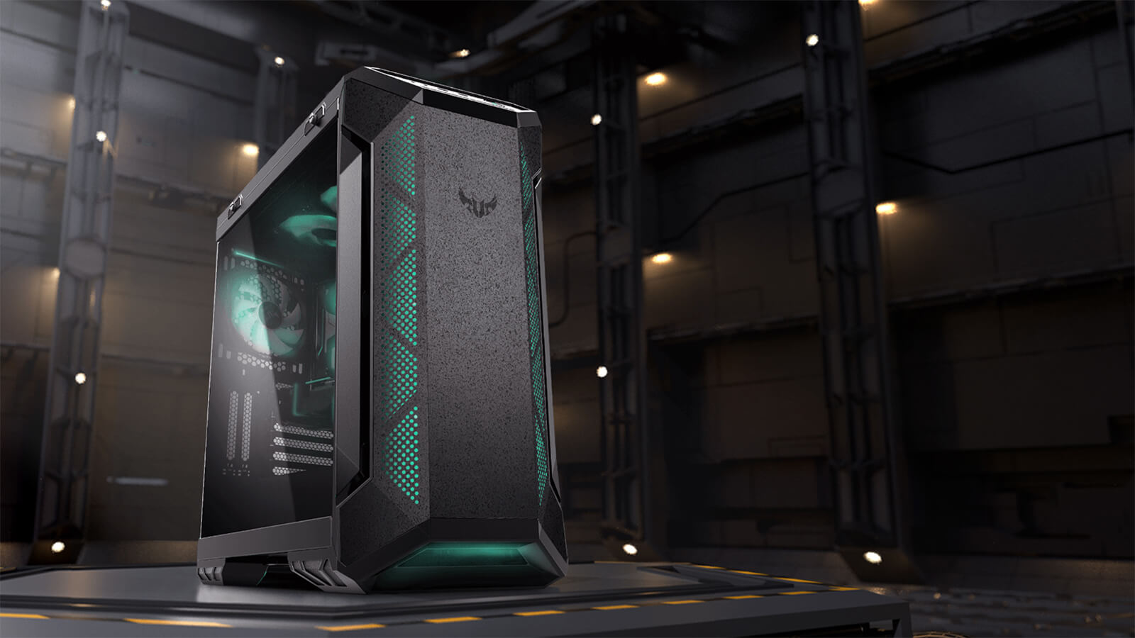 Asus Tuf Gaming Gt501vc Mid Tower Gaming Case Features 01