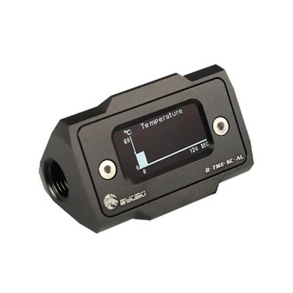 Bykski B-TME-SC-AL Black - Thermal Meter Custom WaterCooling