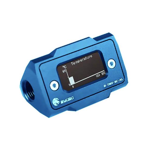 Bykski B-TME-SC-AL Blue - Thermal Meter Custom WaterCooling