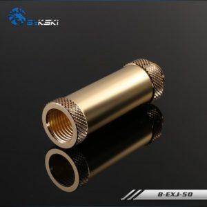 Bykski Golden Extention Joint 50mm B Exj50 Golden