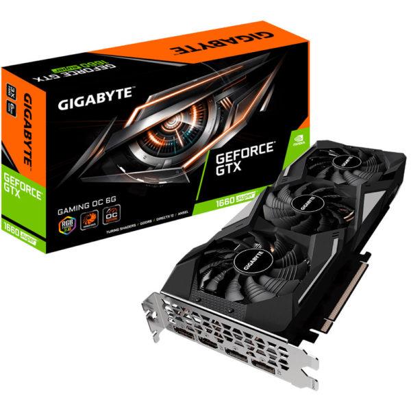 Gigabyte Geforce® Gtx 1660 Super™ Gaming Oc 6g H1