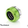 Touchaqua Dual O Ring G1,4 Tighten Fitting For Hard Tubing Od14mm (green)