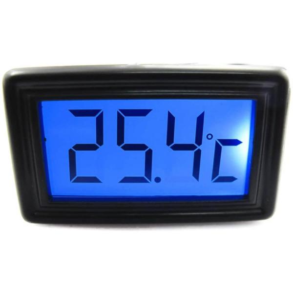 XSPC Temperature Sensor Blue Color LCD