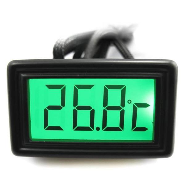 XSPC Temperature Sensor Green Color LCD