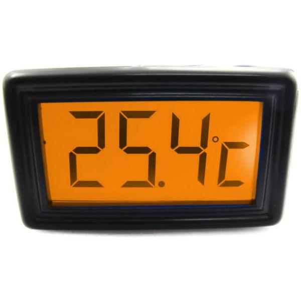 XSPC Temperature Sensor Orange Color LCD