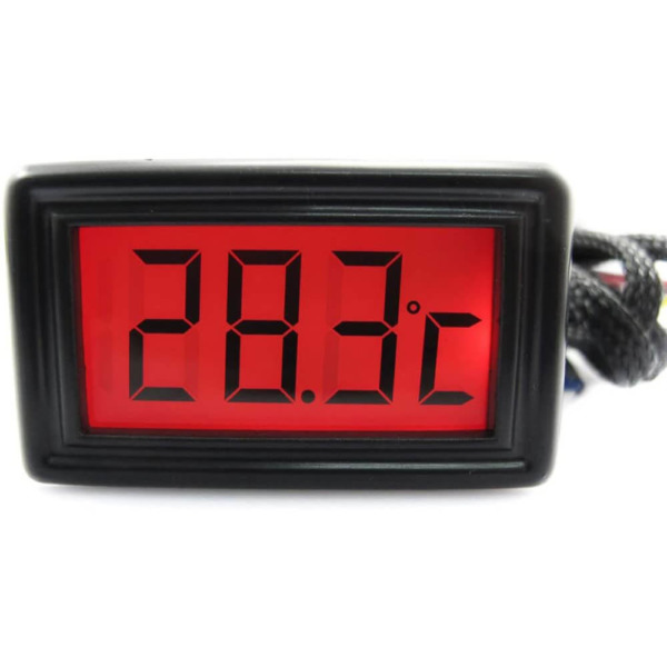 XSPC Temperature Sensor Red Color LCD