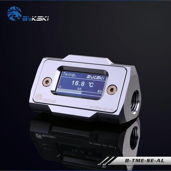 Bykski B-TME-SE-AL Silver - Thermal Meter Custom WaterCooling