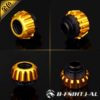 Bykski Gold Hard Tube Wheel Fast Tight Joint - B-FSIHTJ-AL-GOLD