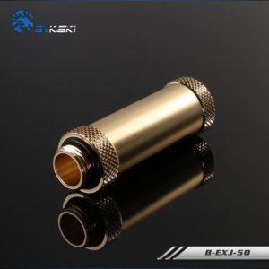 Bykski Golden Extention Joint 50mm - B-EXJ50-GOLDEN