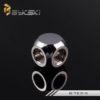 Bykski Silver Three Pass Joints - B-TE3-SL