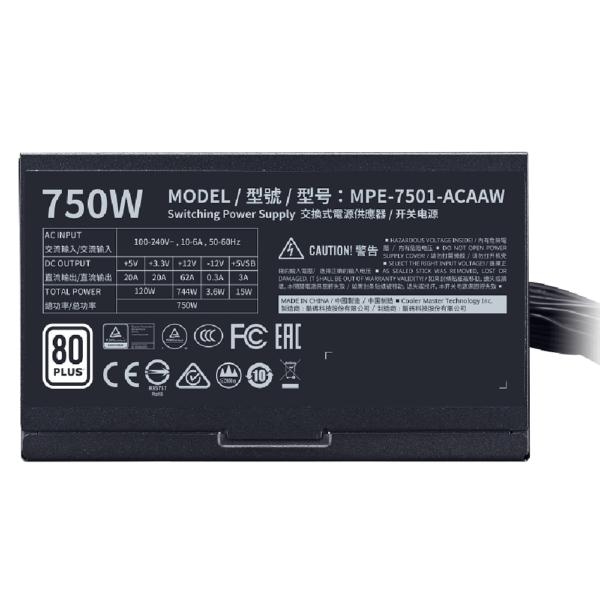 Cooler Master MWE 750 White 230V - V2