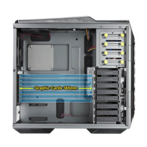 In Win Grone Snow White Gaming Full Tower Case H4