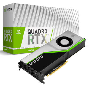 Nvidia Quadro Rtx6000 24gb Gdr6 Workstation Video Card H1