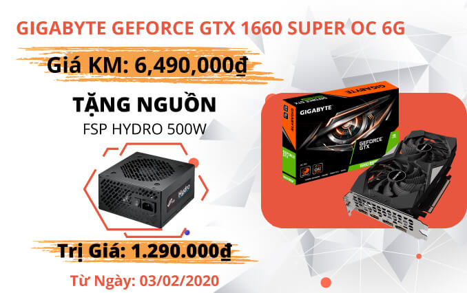Banner Web Gigabyte Geforce Gtx 1660 Super Oc 6g