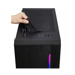 Case Xigmatek Gemini Black Matx 03