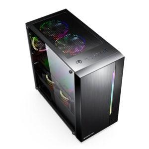 Case Xigmatek Gemini Black Matx 04
